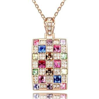Harga LOVENGIFTS Swarovski Beautiful Life Pendant Necklace