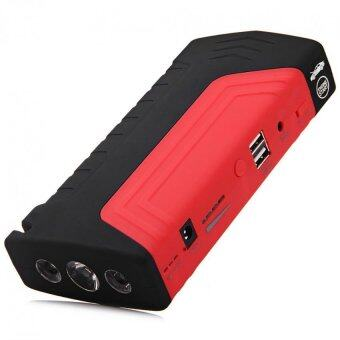 Harga 16800mAh Portable Car Jump Starter + Power Bank + Laptop Charger (Red)