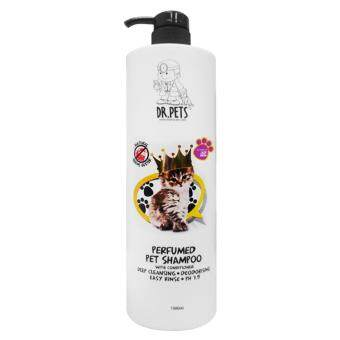 Harga DR PETS Inspired By LADY GAGA NATURAL GERMS BUSTER PERFUMED PET SHAMPOO (CAT) 1L