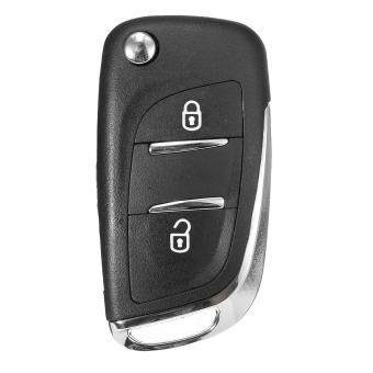 Harga 2 Button Fob Fold Remote Car Key Case Uncut Blade For Peugeot 107 207 307 308 407