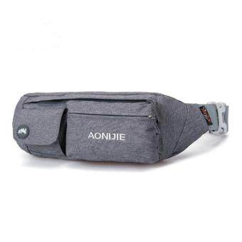 Harga AONIJIE Multipurpose Outdoor Sport Running Nylon Waist Belt Bag Portable Mini Money Fanny Pack