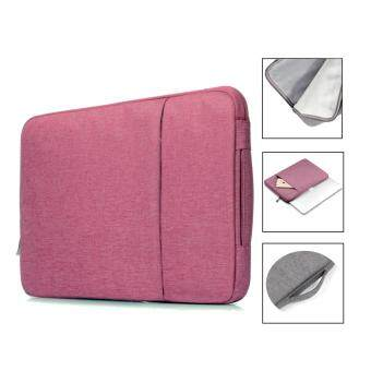 Harga Jiaing 13.3 inches Waterproof Laptop Sleeve Case Bag Protective Cover for Apple, Acer, Asus, Dell, Fujitsu, Lenovo, HP, Samsung, Sony, Toshiba (Rose)