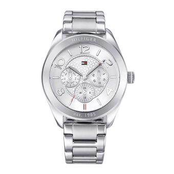 Harga Tommy Hilfiger Watch Gracie Silver Stainless-Steel Case Stainless-Steel Bracelet Ladies NWT + Warranty 1781215