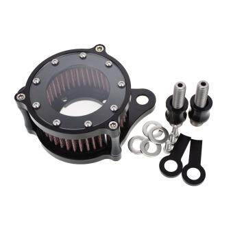 Harga Rebacker Motorcycles Air Filter CNC Air Cleaner Intake Filter Fit For Harley Sportster 883 1200 2004 - 2015