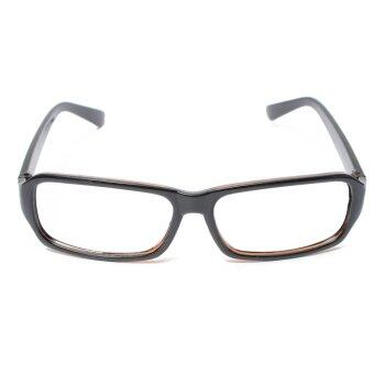 Harga Children Kids Girls Unisex Nerd Geek Eyeglasses Frame Eyewear Without Lenses Brilliant Black