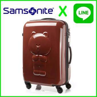 Harga SAMSONITE and LINE FRIENDS KOREA Travel Carrier Luggage Suitcase 24 inch