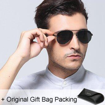 Harga Loveu Men Women Sunglasses Best Gift Lover Couple Polarized Glasses Classic Aviator Sunglasses Women Men Eyeglasses Sun Protection UV400 with Leather Gift Bag
