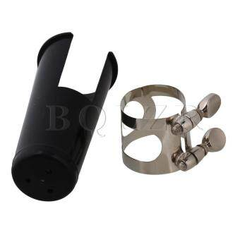 Harga Bb Clarinet Mouthpiece Nickel Ligature (Black)