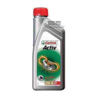 Harga Castrol Activ 4T 20W-40 (Motorcycle)-1 Litre