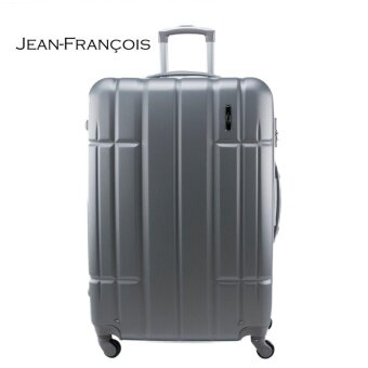 Harga Jean Francois JTH5926 20 inch Hard Case 4 Wheels Spinner Luggage - Silver