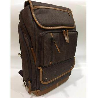Harga Korean Style Traveling / Laptop Backpack (Brown Colour)