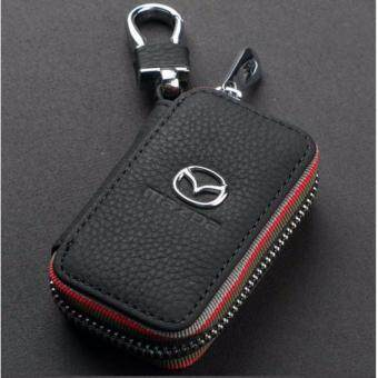 Harga Mazda Car Key Pouch / Key Chain / Key Holder Genuine Leather (Type C)