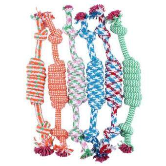 Harga Puppy Dog Pet Toy Cotton Braided Bone Rope Chew Knot
