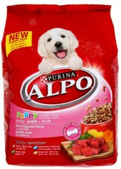 Harga Purina Alpo Beef & Vegetable Flavour Puppy Dog Food 1.3kg