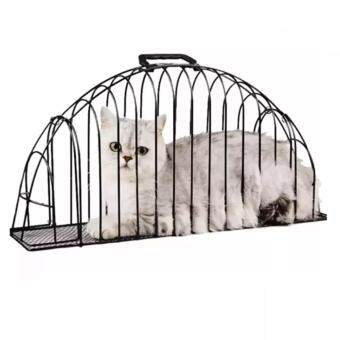 "Harga Cat Bath Cage Double Door (Wrought Iron) 55.5""L x 13.6""W x 28""H"
