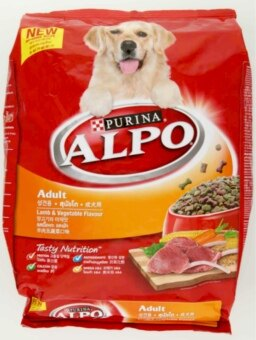 Harga Purina Alpo Lamb & Vegetable Flavour Adult Dog Food 3.0kg