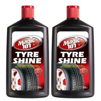 Harga Magic101 Tyre Shine 500ml x 2 bottles