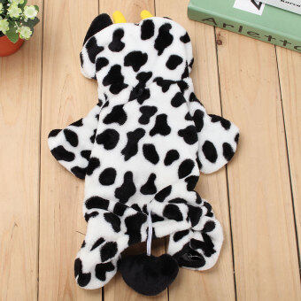 Harga M Baby Cute Pet Dog Cat Puppy Jumpsuit Clothes Costume Christmas Milk Cow Coat