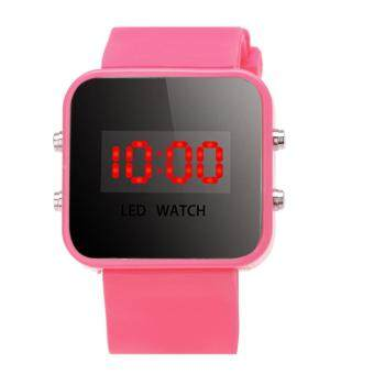 Harga Boy Girls Silicone Led Digital Watches Sport Clock Watch