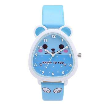 Harga Kezzi Kids Boy Girl Watch K734 Quartz Analog Leather Wristwatches Gifts Cartoon Casual Waterproof Relogio