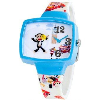 Harga Paul Frank Rubber Strap Watch PFFR969-04C (White)