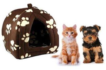 Harga Paw-print Fleece Pet Hut (for small pets)