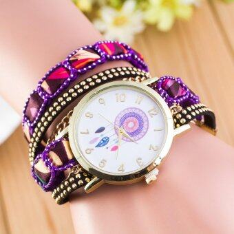 Harga Featured Celebrity Wind Dream Catcher Student Casual Fashion Quartz Watches