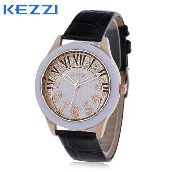 Harga KEZZI K - 974 Women Quartz Watch Water Resistance Artificial Diamond Dial Wristwatch