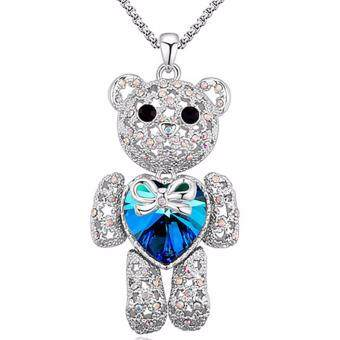 Harga LOVENGIFTS Swarovski My Teddybear Necklace Collection