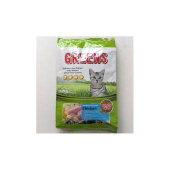 Harga GREEN'S Cat Food Chicken 8KG (Green)