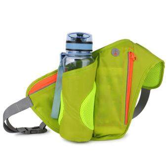 Harga Hiking Waist Pack with Water Bottle Holder Running Belt Bag for Hiking Running Cycling Camping Travel