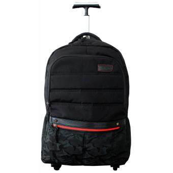 Harga Barry Smith Trolley Backpack (Black)
