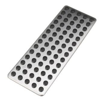 Harga Car Styling Non Slip Foot Rest Plate No Drill Footrest Pedal Cover For Mercedes Benz B C E S Cls Slk Cla Gla Glk Ml Gl Series