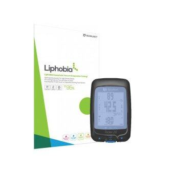 Harga Liphobia Bryton Rider 20 GPS screen guard Hi Clear Clean protector shield anti-fingerprint