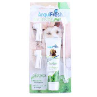 Harga Arquifresh Pet Toothpaste Toothbrush Dental Care Set Prevent Bad Breath