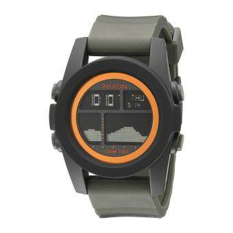 Harga Nixon Watch Unit Tide Green Plastic Case Silicone Strap Unisex NWT + Warranty A2822050