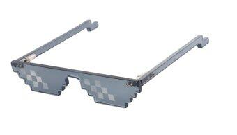 Harga 'Deal With It' Swag Sunglasses 8 Bit Glasses