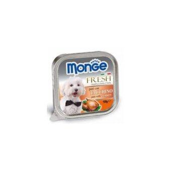 Harga Monge Fresh Turkey 100g 32 packs free 4