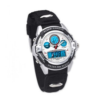 Harga SEIKO Sega Digital Sports Watch Didital Dual Time White
