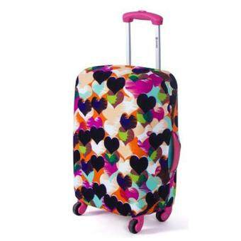 Harga luggage cover(style: LOVE)