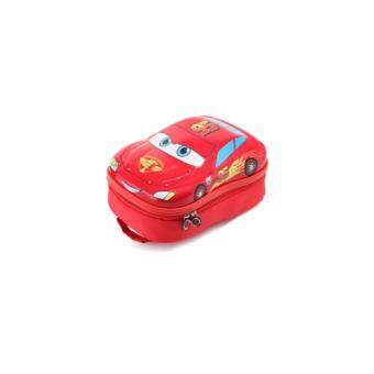 Harga DISNEY LIGHTNING MCQUEEN (3D HARD SHELL) - HIGH QUALITY Backpack (Age 3-6) - MEDIUM HARD RED