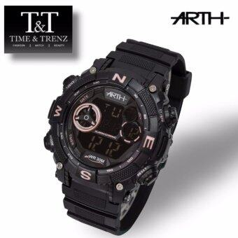 Harga Time&Trenz ARTH 2023 High Quality Unisex Sporty Water Resistance Watch