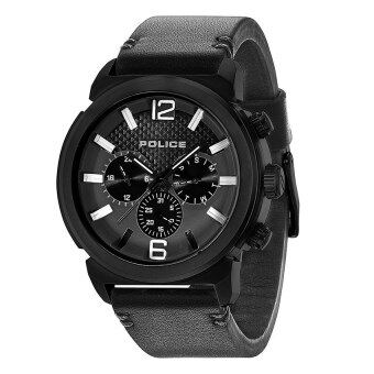 Harga Police Concept Men Genuine Leather Strap Watch PL14377JSB/02A