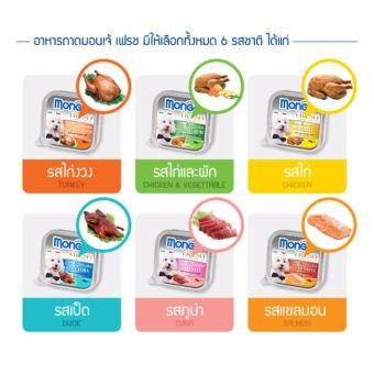 Harga MONGE ASSORTED FLAVOUR 100G (32 UNITS )