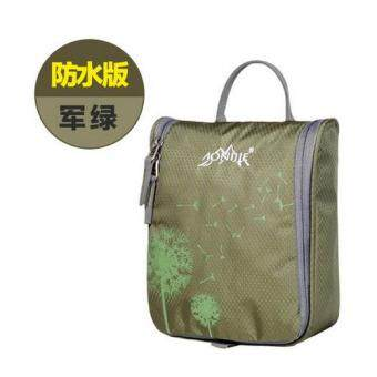 Harga AONIJIE Travel Kit Portable Wash Bag Waterproof Wash Bag Male Women Fashion Toiletries Bag - Army Green