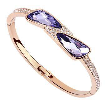Harga LOVENGIFTS Swarovski Moonlight Bay Bangle
