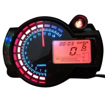 Harga Adjustable Motorcycle Digital Speedometer LCD Digital Odometer