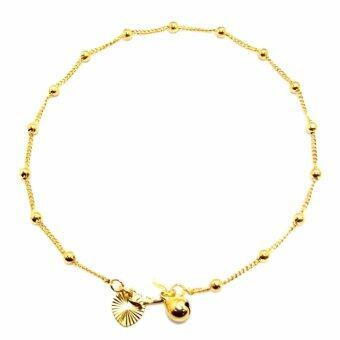 Harga KLF Rainguard Ladies Fashion Gold Ankle Bracelet