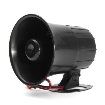 Harga 12V 15W Car Truck Air Electric Siren Horn Speaker Auto Van PA Loud Sound Alarm