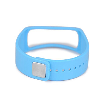 Harga Replacement for Samsung Galaxy Gear Fit Smart Watch Band Wrist Strap Wristband Azure